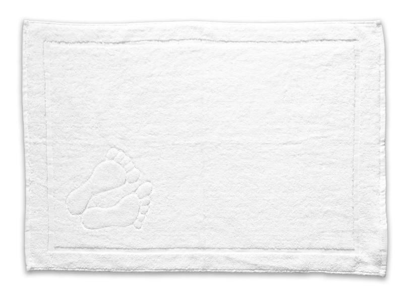 Kúpeľňová predložka, 50x70cm (biela)