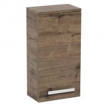 Kúpeľňová skrinka Tiera závesná (32,5x163x33 cm, dub)