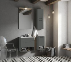 Kúpeľňová zostava Sanya (antracit)