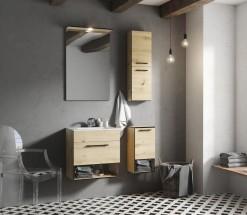 Kúpeľňová zostava Sanya (dub artisan)