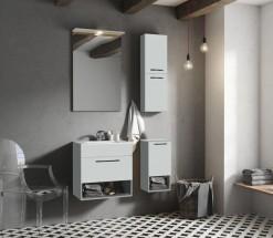 Kúpeľňová zostava Sanya (svetlo sivá)
