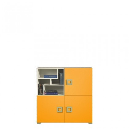 LABYRINT LA 8 (krémová/oranžová)