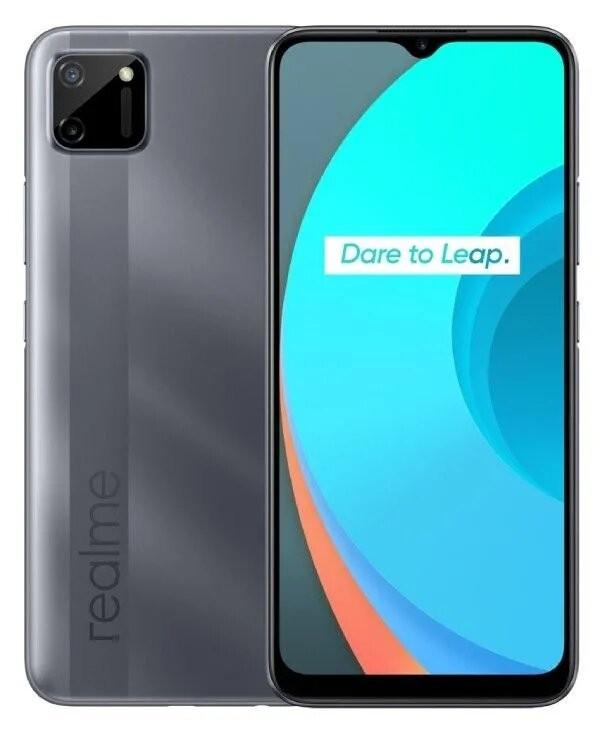 Lacné mobily Mobilný telefón Realme C11 3GB/32GB, šedá