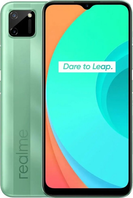 Lacné mobily Mobilný telefón Realme C11 3GB/32GB, zelená