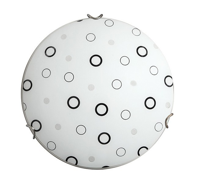 Lady - Nástenná svietidla, E27 (biela/čierna )