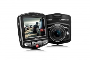 LAMAX C3 - kamera do auta + darček