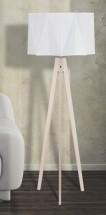 Lampa Piano (sivá, 140 cm)