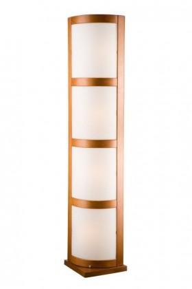 Lampa stojacia-LP-3.21(chróm, hnedá)