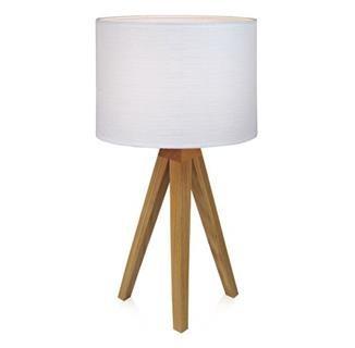 Lampičky Kullen  MS-104625-KUL(drevo/textil/bielá)