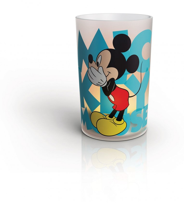 Lampičky LED lampa Disney Mickey Mouse
