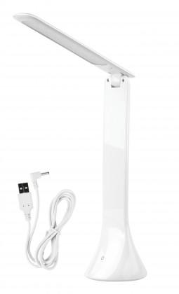 Lampičky LED stolná lampička IM811 biela, USB
