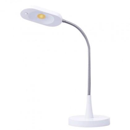 Lampičky Stolná LED lampička Emos HT6105, biela
