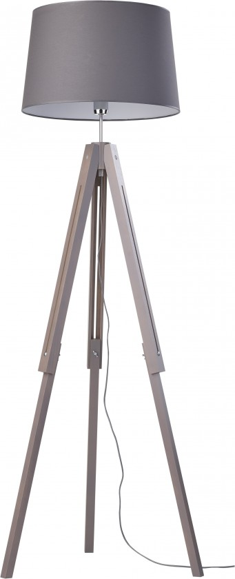 Lampy Lampa Lorenzo (sivá, 157 cm)