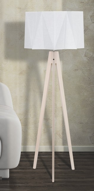 Lampy Lampa Piano (sivá, 140 cm)