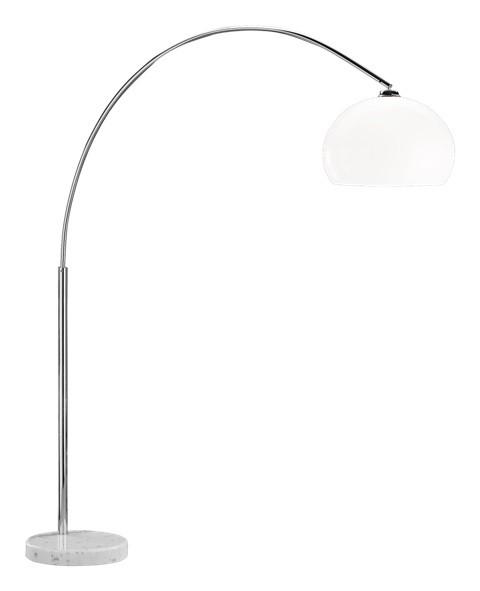 Lampy Stojaca lampa Bodler, s polohovateľným ramenom, pätica E27