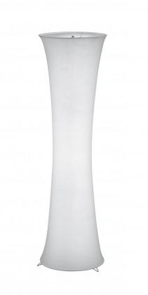 Lampy Stojaca lampa Gama, 2 zdroje, látkové tienidlo, pätica E27
