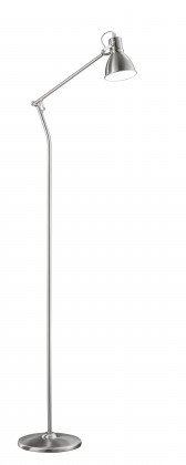 Lampy Stojaca lampa Jamie, s pohyblivým ramenom, pätica E27