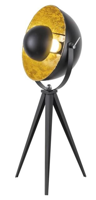 Lampy Stojaca lampa Neven, kovová, reflektorová, 3-nožka, 60cm