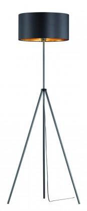 Lampy Stojaca lampa Respi, 3-nôžka, nožný vypínač, pätica E27