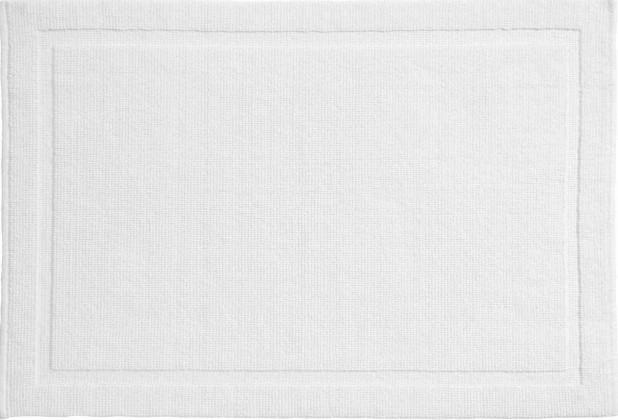 Lao - Kúpeľňová predložka 60x90 cm (snehobiela)