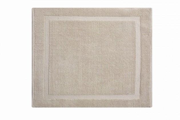 Lao - Kúpeľňová predložka malá 50x60 cm (piesková)