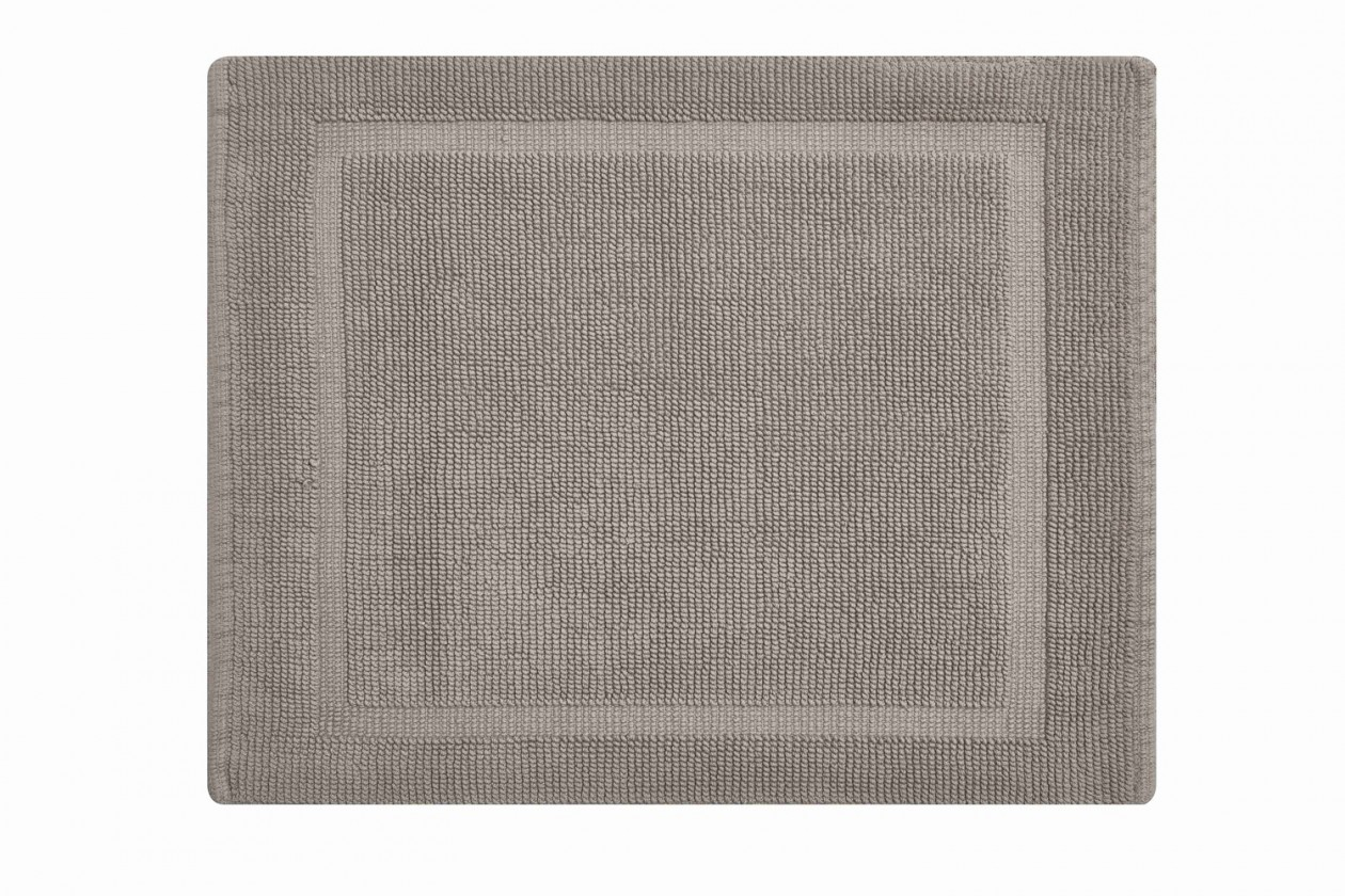 Lao - Kúpeľňová predložka malá 50x60 cm (šedobéžová)