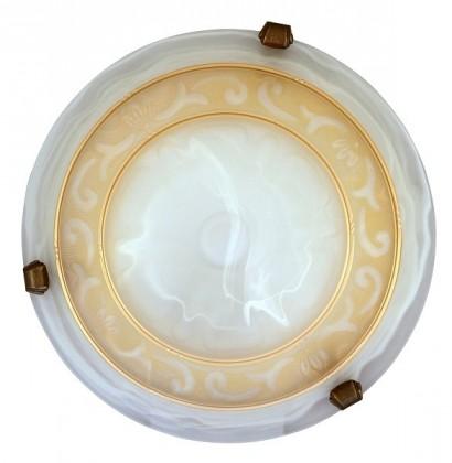 Laretta - Nástenná svietidla, E27 (alabastrová/bronzová )