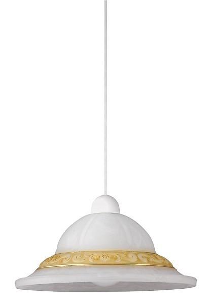 Laretta - Stropné osvetlenie, E27 (vzorkovaná alabastrová/biela)