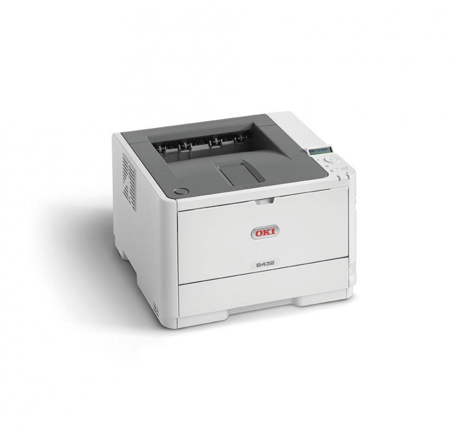 Laserová tlačiareň Laserová tlačiareň OKI B432dn  A4, čb, 1200x1200, 40 ppm