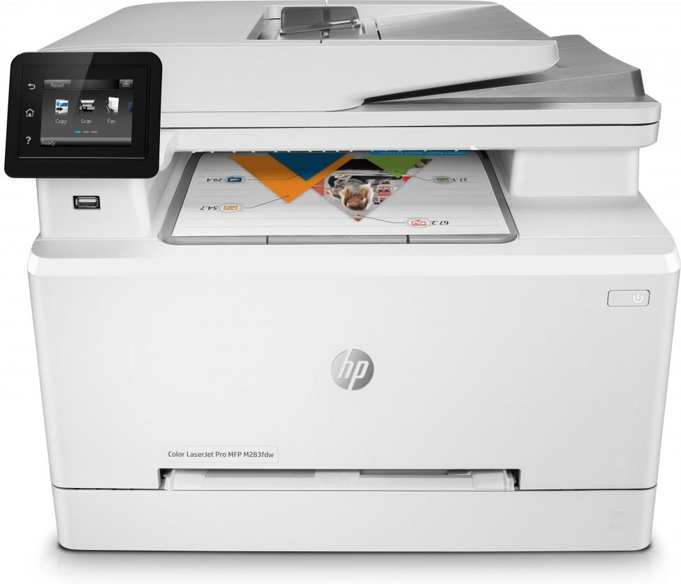 Laserová tlačiareň Multifunkčná laserová tlačiareň HP Color LaserJet Pro MFPM283fdw