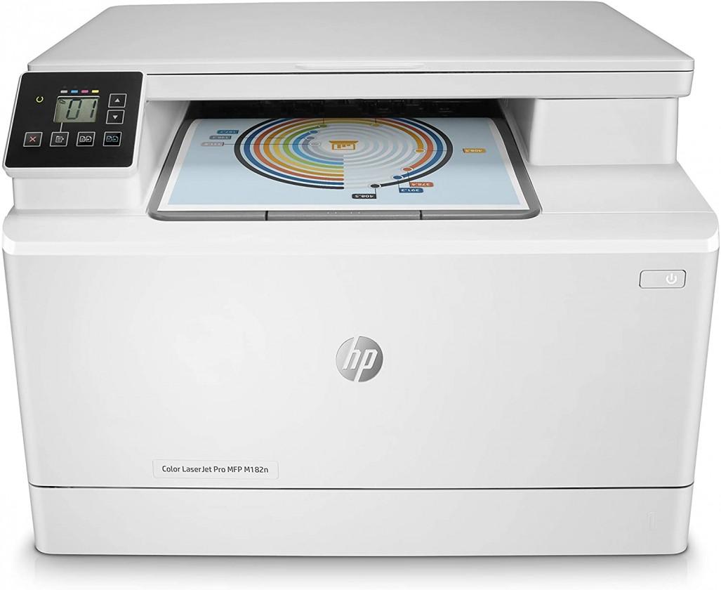 Laserová tlačiareň Multifunkčná laserová tlačiareň HP Color LaserJet ProMFP M182n