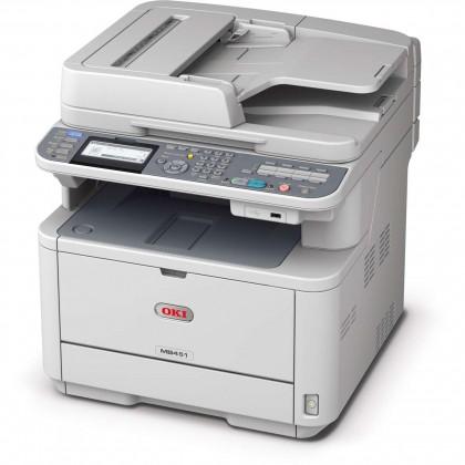 Laserové multifunkce Oki MB451dn A4, 29 ppm 600x600 dpi, USB, LAN (Print/Scan/Copy)