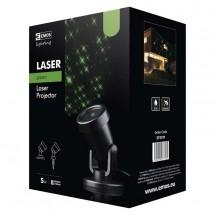 Laserový dekoratívny projektor Emos ZY2191, zelené hviezdy