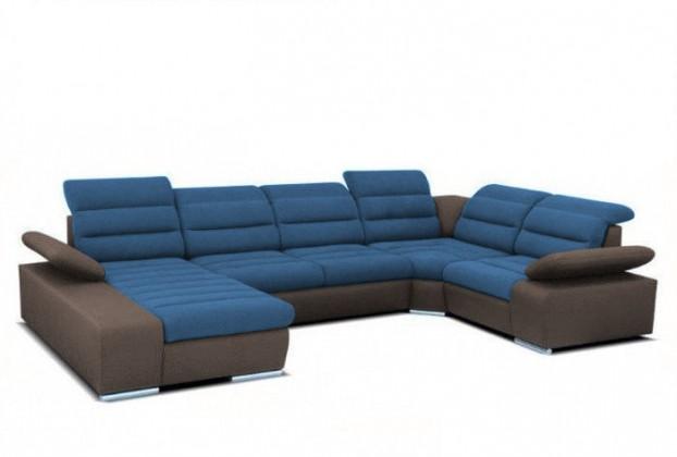 Látkové sedačky v tvare U Korfu II-SSU,L, rzkl, ÚP, 4relax
