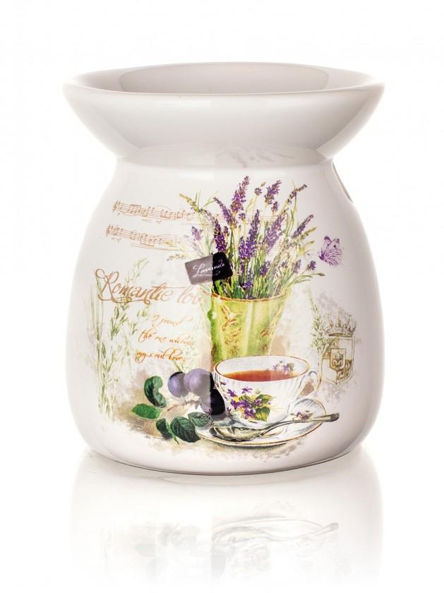 Lavender - Aromalampa, 10,2 cm (biela)