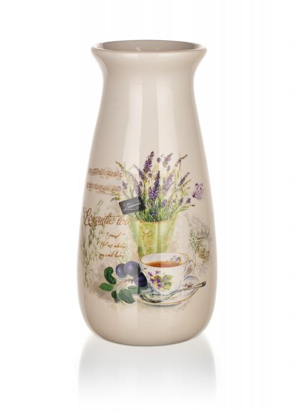 Lavender - Váza, 19 cm (biela)