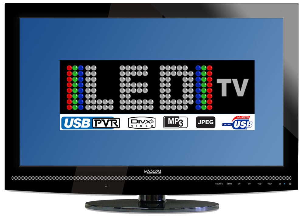 """LED 24"""" Mascom MC 24LFH44"""