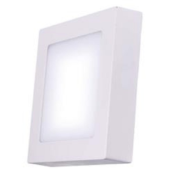 LED osvetlenie Emos LED přisazené svítidlo čtverec 12W teplá bílá IP20 ZM6131