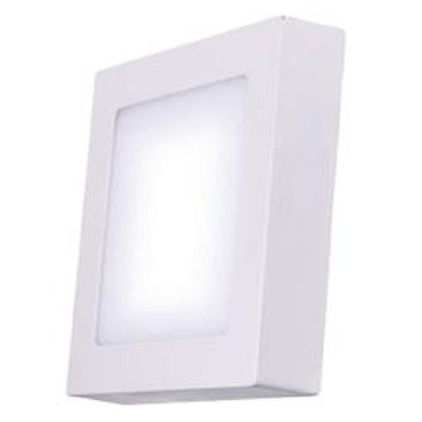 LED osvetlenie Emos LED přisazené svítidlo čtverec 18W studená bílá IP20 ZM6142