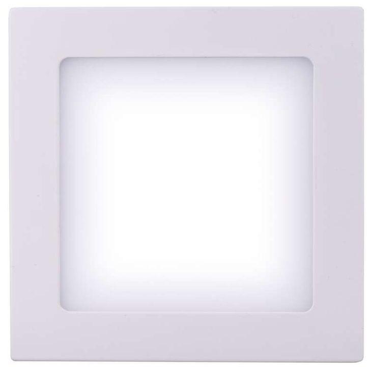 LED osvetlenie Emos LED přisazené svítidlo čtverec 6W studená bílá IP20 ZM6122