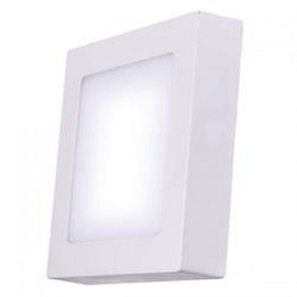LED osvetlenie Emos LED přisazené svítidlo čtverec 6W teplá bílá IP20 ZM6121