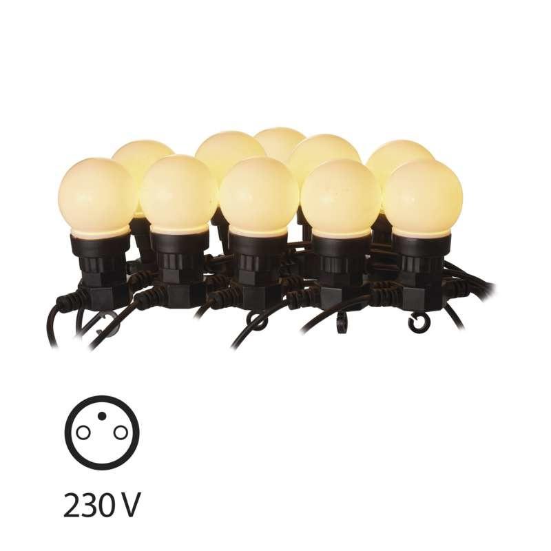 LED osvetlenie LED dekoračná reťaz Emos ZY1939 50LED 10x párty, 5m