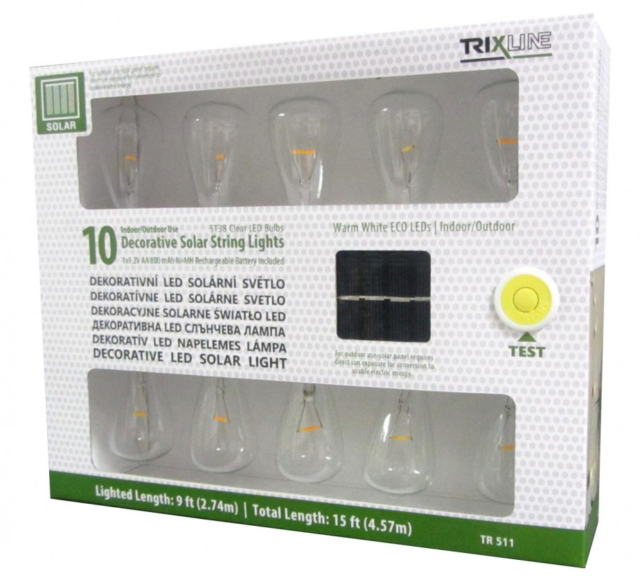 LED osvetlenie LED solarní svetlo OSVTRL0001TRIXLINE 511
