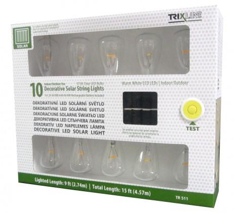 LED osvetlenie LED solarní svetlo Tesla OSVTRL0001TRIXLINE 511