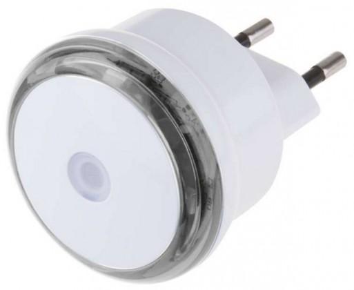 LED osvetlenie Nočné svietidlo s fotosenzorom do zásuvky 230V, 3x LED