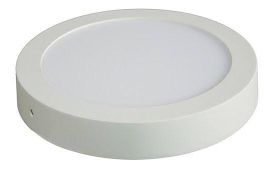 LED osvetlenie Solight LED panel prisadený, 12W, 900lm, 3000K, okrúhly, biely