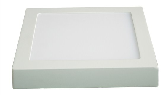 LED osvetlenie Solight LED panel prisadený, 12W, 900lm, 3000K, štvorcový, biely