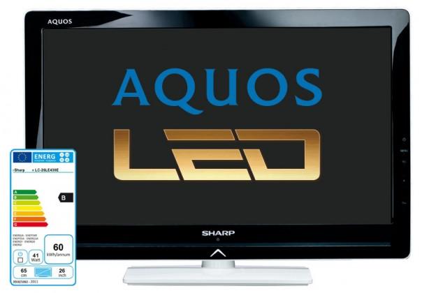 LED televízory  Sharp LC-26LE430E