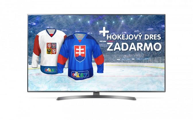 """LED televízory Smart televízor LG 55UK6750PLD (2018) / 55"""" (139 cm)"""