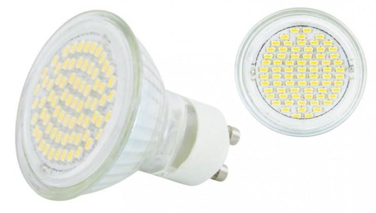 LED žiarovka  Emos Dichro.72LED 4W GU10 DL